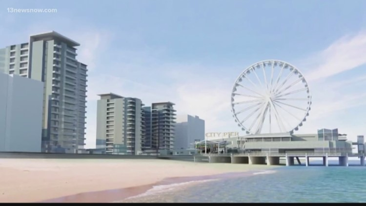 New Virginia Beach Pier Proposals Include Park Over Ocean
