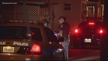 Woman shot after bullets go through front door, Suffolk police investigate
