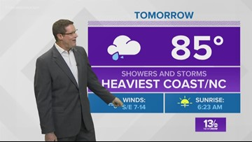 13News Now Weather at 6 p.m. - August 17