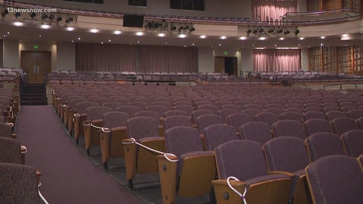 Virginia Symphony Orchestra prepares for performances