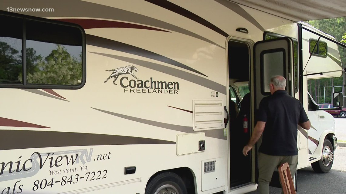 Williamsburg pharmacy driving RV vaccine clinic across Peninsula to get more shots in arms