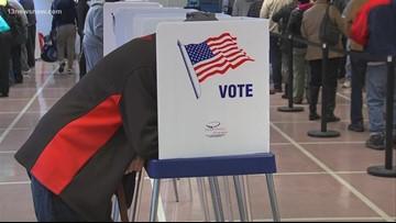 Pop-up voter registration event on eve of deadline
