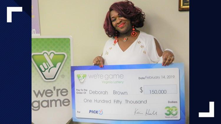 Richmond woman wins Virginia Lottery 30 times