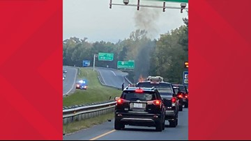 All northbound Route 168 Chesapeake Expressway lanes open after vehicle fire