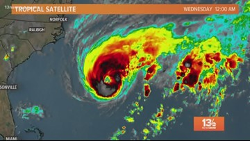 Tropics update: Imelda churns over Texas; Humberto strengthens as it approaches Bermuda