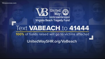 NEWSMAKER: United Way South Hampton Roads sets up fund for shooting in Virginia Beach