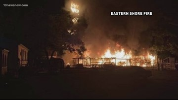Iconic Chincoteague barn destroyed in fire