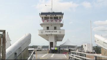 Powhatan Ferry begins operations