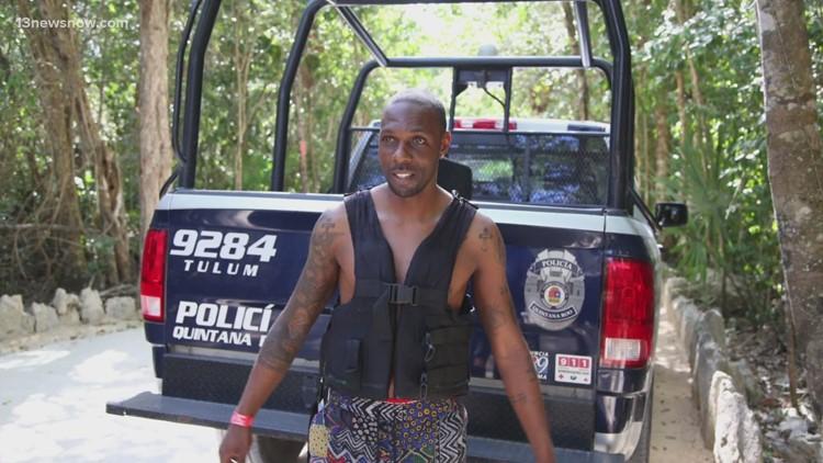 Hampton man saves drowning victim in Mexico