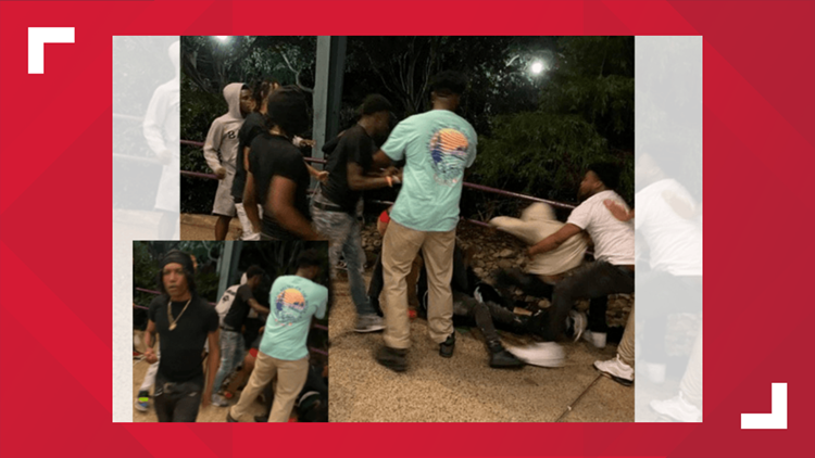 Group of men wanted for assault at Busch Gardens
