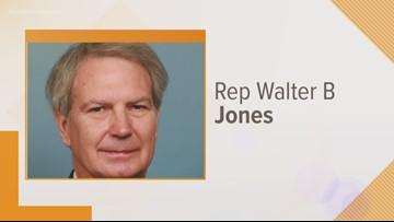 North Carolina Congressman Walter B. Jones Jr. passes away