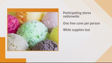 Get a free ice cream cone on the first day of spring at Dairy Queen