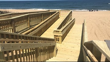 Kill Devil Hills unveils first fully handicap accessible beach access