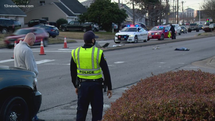 Cyclist dies after being hit by car in Virginia Beach