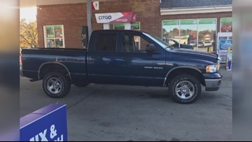 After his work truck exploded, someone steals a man's new truck the same day he bought it