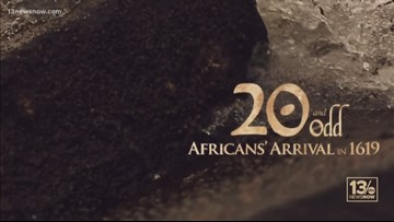 20 and Odd: Africans' Arrival in 1619