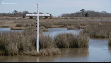 Cross in Poquoson marsh sparks intrigue