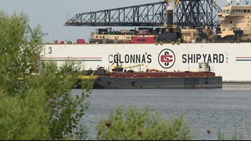 Bomb threat reported at Colonna's Shipyard for second time this month