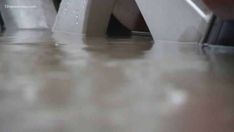 Mark Warner, Elaine Luria talk to leaders about sea level rise in Hampton Roads