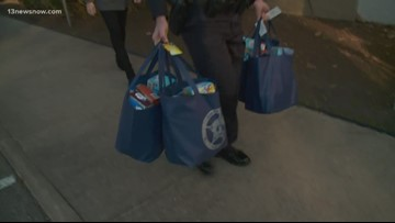 Chesapeake Sheriff's Office makes special holiday delivery