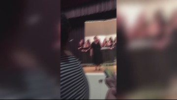 Deep Creek alumni surprise retiring chorus director, sing alma mater