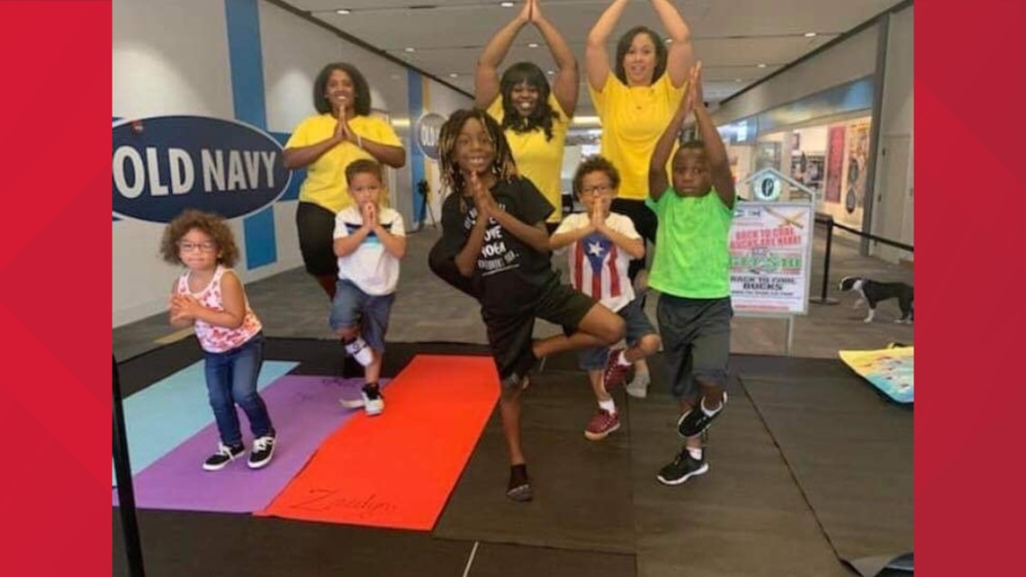 Virginia Beach kids get ready for first day of school with yoga