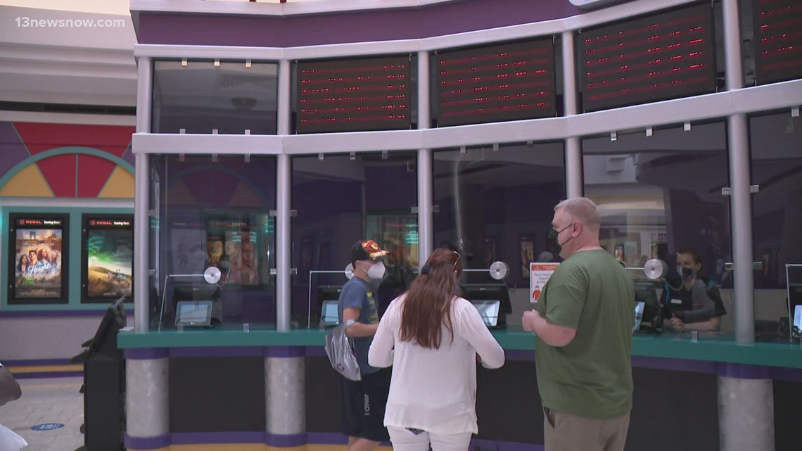 Local Regal Cinemas reopen for movie-goers
