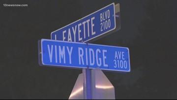 Norfolk police investigate shooting on Vimy Ridge Avenue