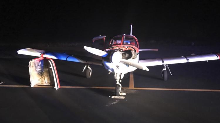 Small plane makes emergency landing at Williamsburg Jamestown Airport Tuesday night