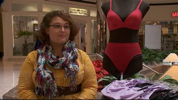 MAKING A MARK: Collecting bras for women in homeless shelters