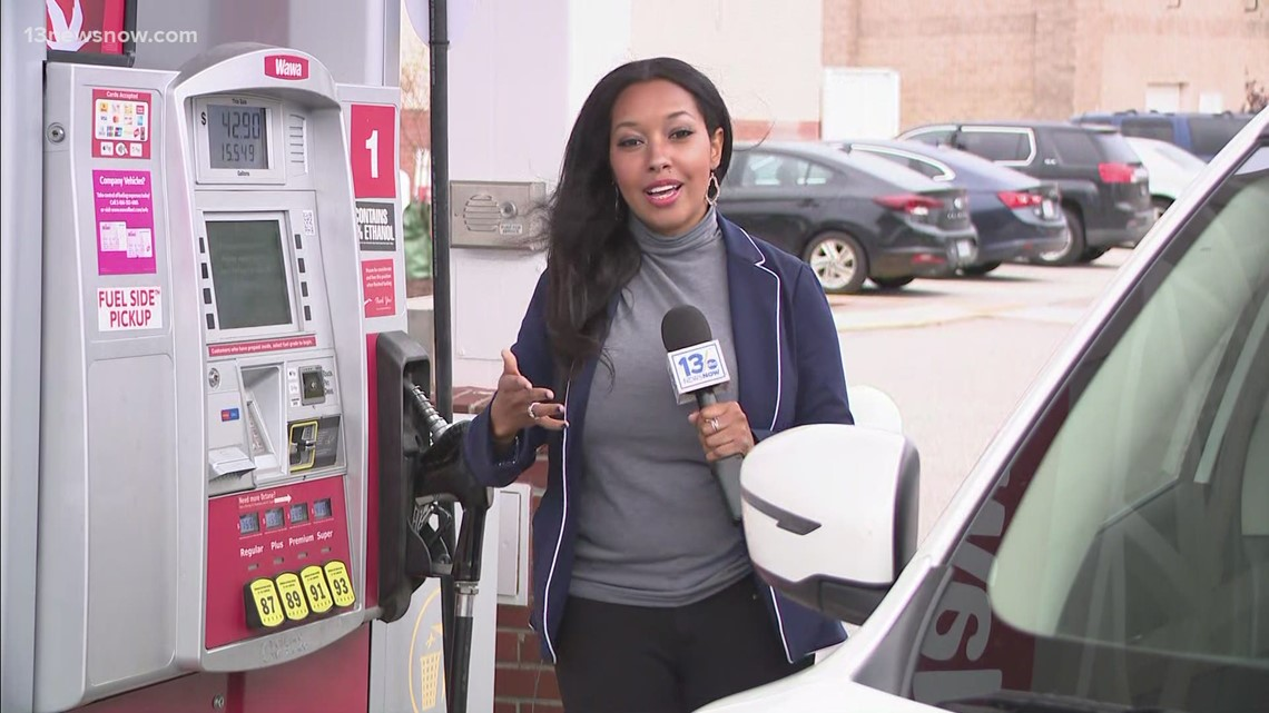Fuel prices rise in Virginia after Colonial Pipeline shutdown