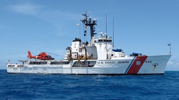 Coast Guard Cutter Dependable Returned