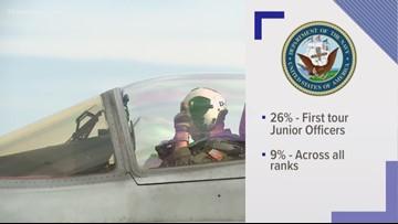 Navy provides new numbers regarding fighter pilot shortage