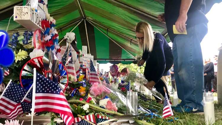 virginia beach memorial tent