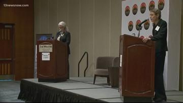 Cheryl Turpin, Jen Kiggans face off in Senate debate