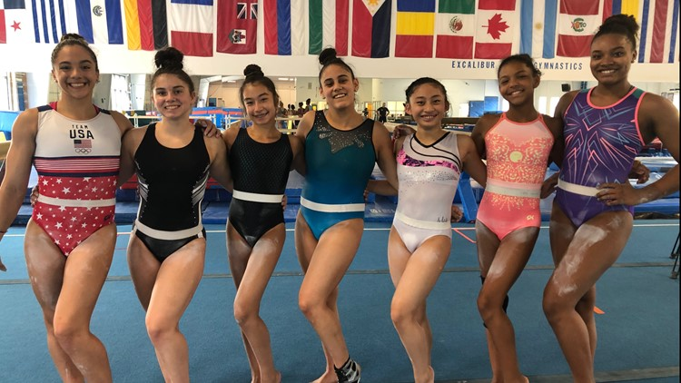 Hampton Roads gynmnasts share support for Simone Biles while Toyko journey hangs in the balance