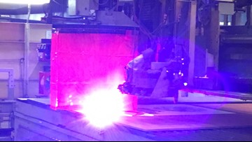 First steel cut as shipyard launches new Columbia-class submarine program