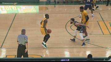 NSU hoops has big 2nd half in route to win