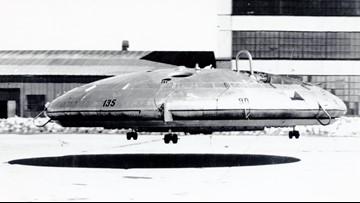 Flying saucer lands at Fort Eustis museum