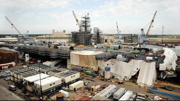 12 projects at 5 Hampton Roads bases named in D.o.D. list of possible cuts