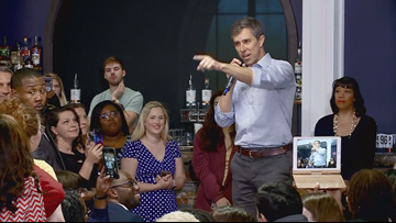 Presidential candidate Beto O'Rourke makes campaign stops in Hampton Roads