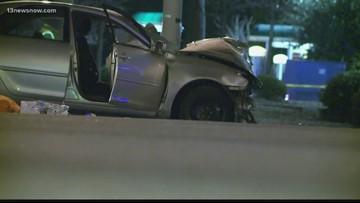 2 people dead, 4 hurt after serious car crash in Virginia Beach