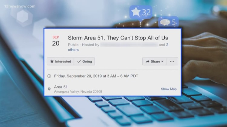 Online movement to storm Area 51 explained