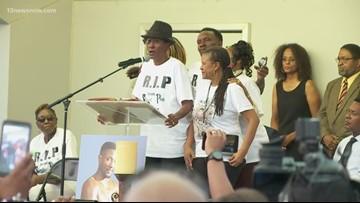 Community remembers boxing champ at vigil
