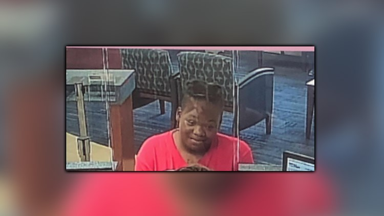 Virginia Beach police searching for woman accused of robbing credit union