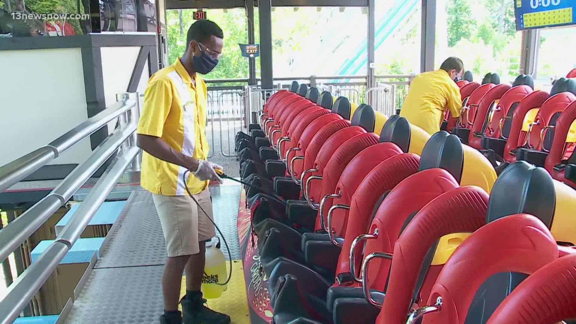 Busch Gardens Williamsburg to reopen for special 11 day event