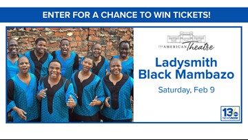 Ladysmith Black Mambazo sweepstakes rules