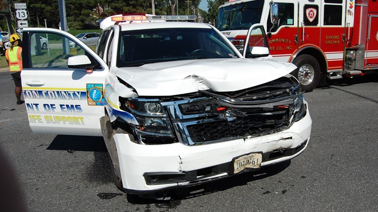 Virginia State Police: Man killed in collision with EMS SUV in Northampton County