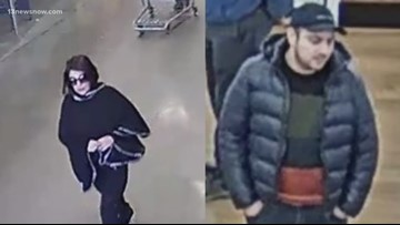 Newport News police looking for credit card theft suspects