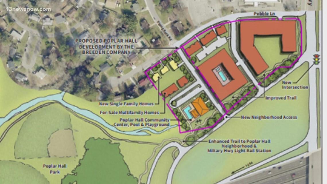 Wanting input on elementary school development project, Norfolk's Poplar Halls residents start petition